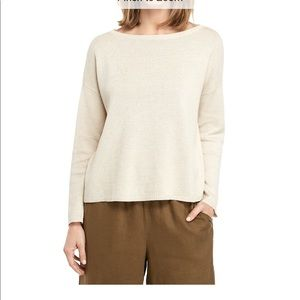 NWT Boat Neck Long Sleeve Sweater XL